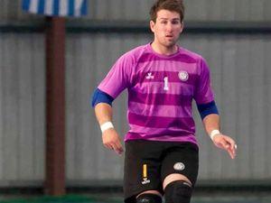Brad chases a World Cup berth Futsal