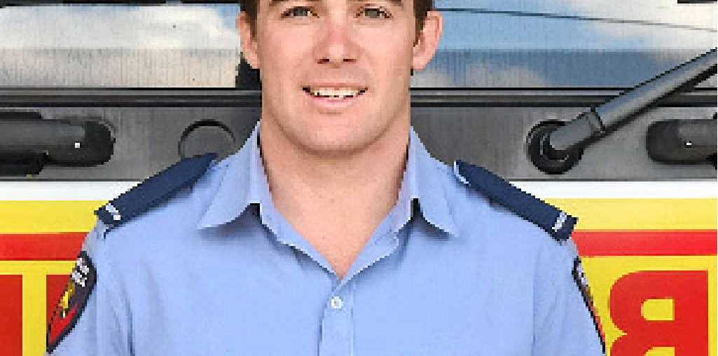 NEW FACE: Gold Coast boy Blake Broadwood swapped sky highs and city sights for a cosy coastal life while he works his way up the ladder as a firefighter.