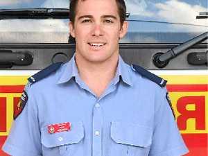 Meet Airlie Beach's newest fire fighter