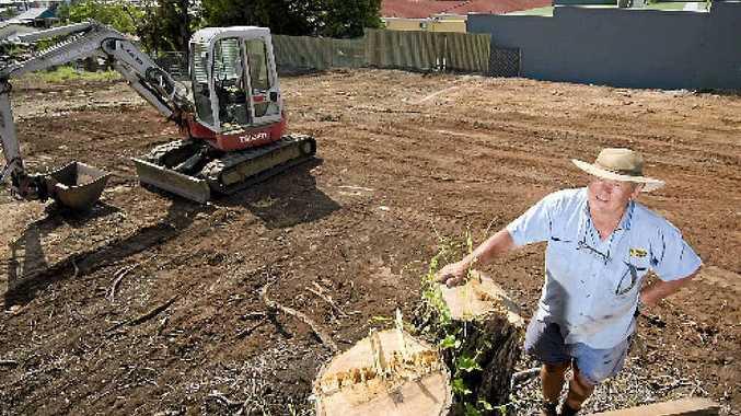 WORK IN PROGRESS: Martin Gleeson is developing a 198-room hotel in Gladstone.