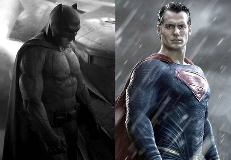 Ben Affleck as Batman and Henry Cavill as Superman