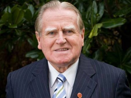 Christan Democratic Party leader Rev Fred Nile
