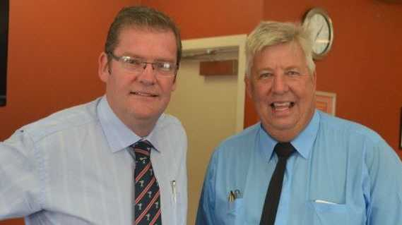 Minister John McVeigh supports Ian Rickuss in his Lockyer re-election campaign.
