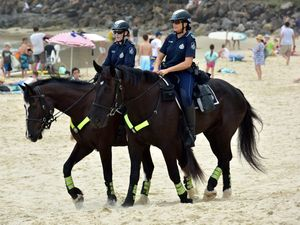 Mounted Police in Noosa