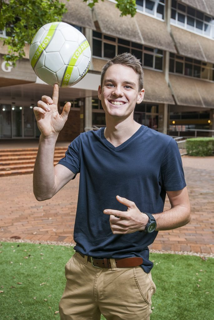 Jack van Tricht is preparing to study a Bachelor of Education at the University of Southern Queensland. Photo contributed.