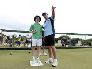 Bowls coaching clinic