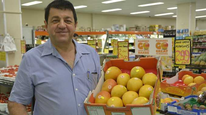 Bevan Betros of Betros Bros says buying fresh fruit and vegetables from retailers which source produce locally will mean you pay less.