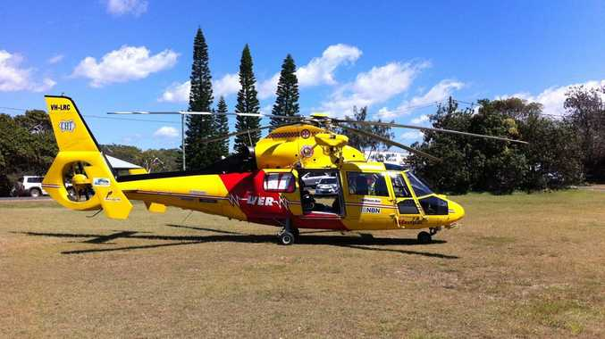 The Westpac Life Saver Rescue Helicopter.