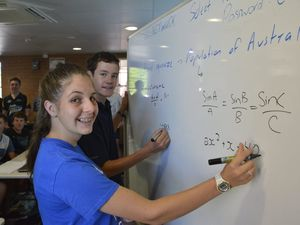 Maths camp at TGS