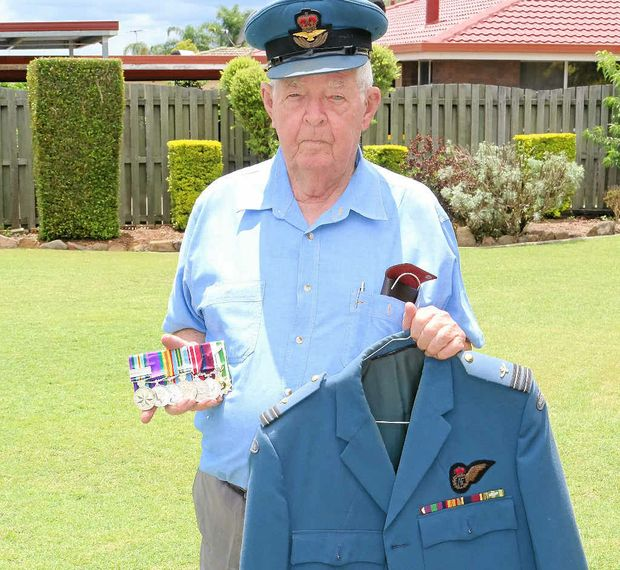 HAPPY TIMES: Don Neumann's career in the Royal Australian Air Force took him all over the country and overseas before he returned to the Lockyer Valley where he grew up.