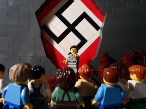 Teen creates Nazi Holocaust in Lego for history project