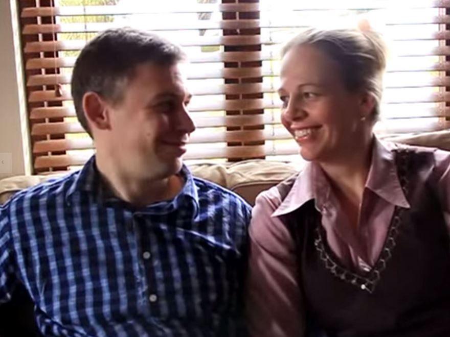 Martin Pistorius and his wife Joanna