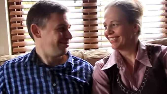 Martin Pistorius and his wife Joanna