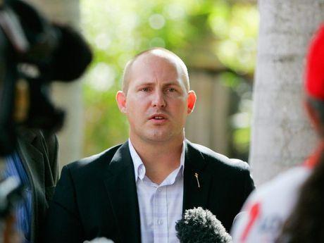 Queensland opposition spokesperson on Treasury issues, Curtis Pitt in Rockhampton. Photo: Chris Ison / The Morning Bulletin