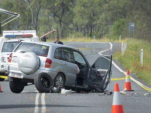 Fatal crash on Gladstone Benaraby Road