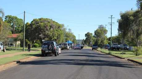 ALL QUIET: Residents on Haly St say things are quiet on the street despite the siege.