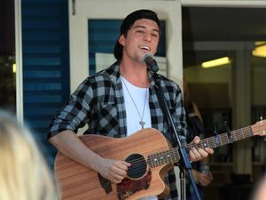 X Factor duo serenades surprised fans in M'boro