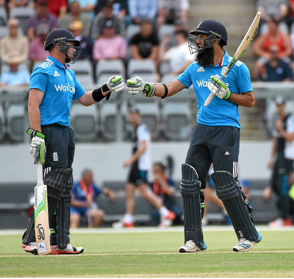 IN FORM: Ian Bell (left) and Moeen Ali are likely to be England's openers at the World Cup.
