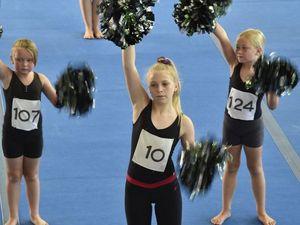 Cheerleaders audition