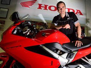 Stresses vanish on a motorbike