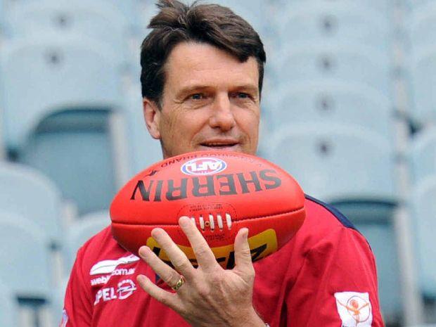 EVER THE INNOVATOR: Melbourne coach Paul Roos is an ideas man.