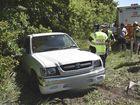 Ute and trailer crash on Toowoomba Range