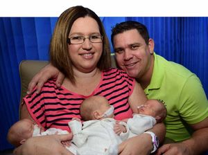Oh Baby! Triplets and mum survive incredible journey