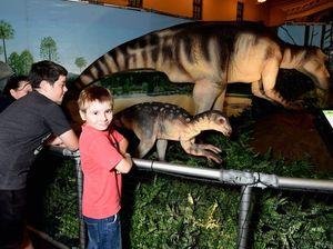 Maryborough dinosaur exhibition passes 15,000 visitors
