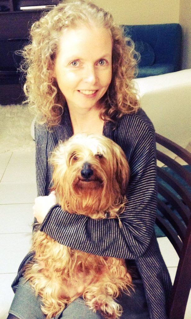 Katrina Bredhauer with her dog Winston. Photo Contributed