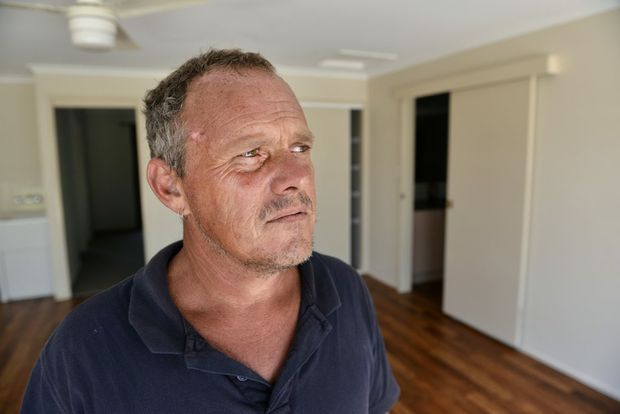 Jason Rees and Peta O'Sullivan are moving out and want to express how clean they have left their rental house after criticism on Facebook. Photo Patrick Woods / Gympie Times