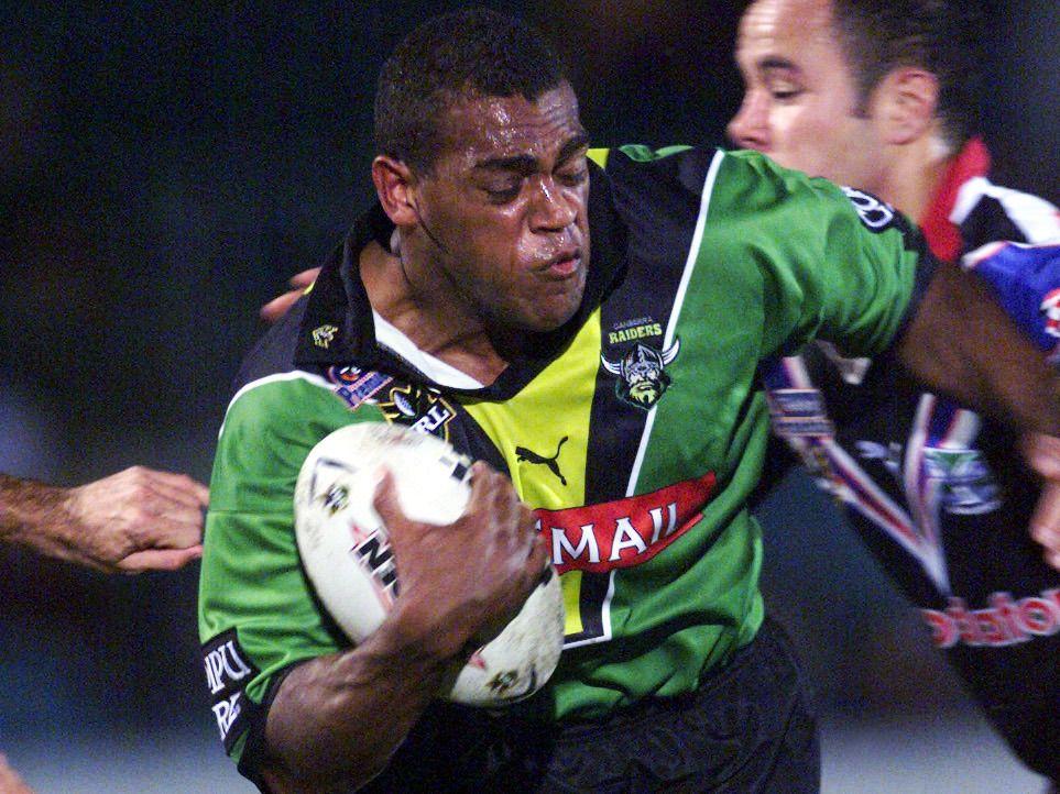 2001. Ken Nagas- during round 14 NRL - Canberra Raiders v Auckland Warriors at Manuka Oval.