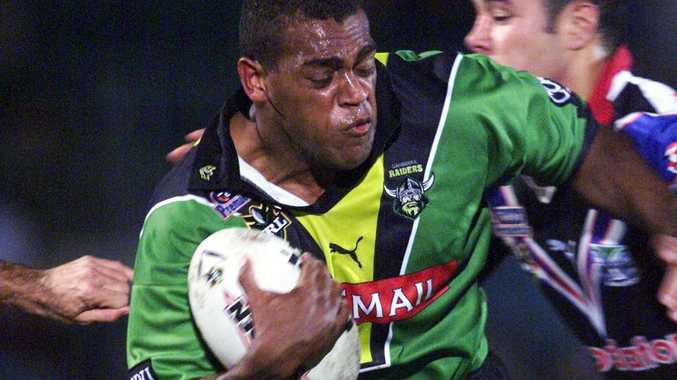 2001. Ken Nagas- during round 14 NRL - Canberra Raiders v Auckland Warriors at Manuka Oval.