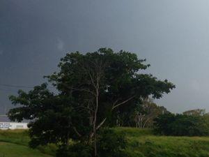 Storm brewing over Bundaberg