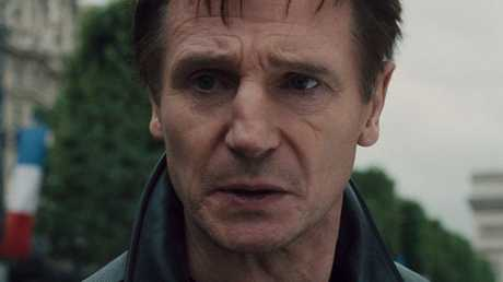 A scene from Taken, with Liam Neeson