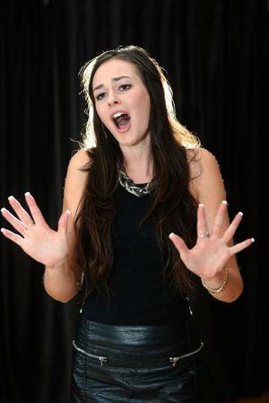 Singer Nina Baumer Photo: John Gass / Tweed Daily News