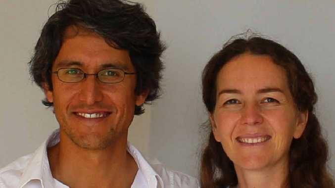 NEW DENTIST: Dr William Edmeades and his wife, health coach Paola Chadwick.