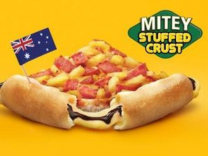 Pizza Hut invents Vegemite crust pizza for Australia Day