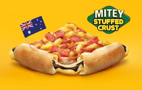 Pizza Hut releases Vegemite-and-cheese-stuffed pizza for Australia Day