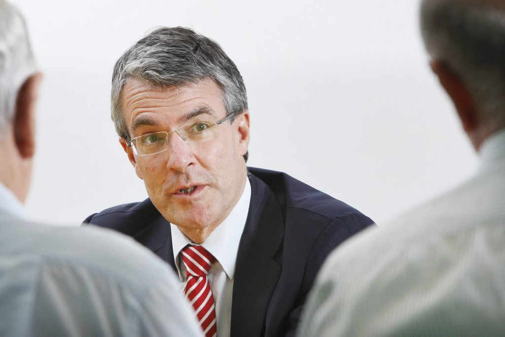 IMPRESSED: Federal Shadow Attorney General Mark Dreyfus enjoyed the Queensland Labor Party campaign launch held in Ipswich on Tuesday.