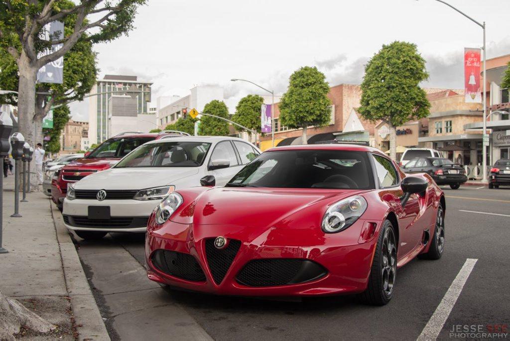 The Alfa Romeo 4C Launch Edition.