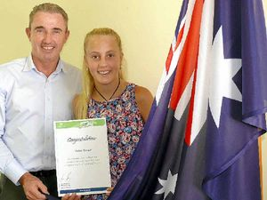 Young stars get boost Sports grants
