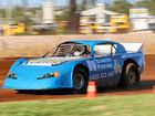 DUSTY WORK: A variety of classes hit the track at Lockyer Valley Speedway on Saturday.