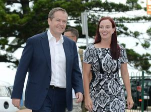 Federal Opposition Leader Bill Shorten in Yeppoon earlier this year
