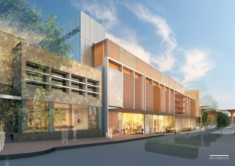 An artist impression of the Grand Central redevelopment.