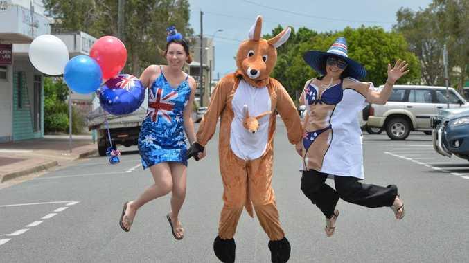 Jamii Gauci, Juanita Gage and Judy Gauci from DIY Costumes.