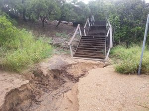 Vegetation needed to prevent erosion at Canoe Point