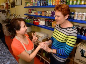 Hanson back to where it all began at old fish and chip shop