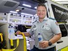 GOOD ADVICE: Acting Officer in Charge of Ipswich Ambulance Station Glenn Dudley has handed out vital tips on how we should beat back the heat.