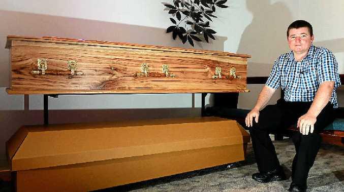 FUNERAL EXPERT: Ben Little of Dolphin Funerals, Murwillumbah.