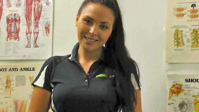 HAPPY ARRIVAL: Jasmine Todd, this week's Girl Friday, enjoys the Gladstone lifestyle.
